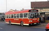 THX174S London Blue Triangle London Transport