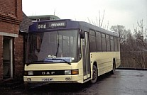 F318EWF Northern Bus,Anston