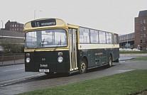 DUH76V Warstones(Green Bus),Great Wyrley Rhymney Valley DC