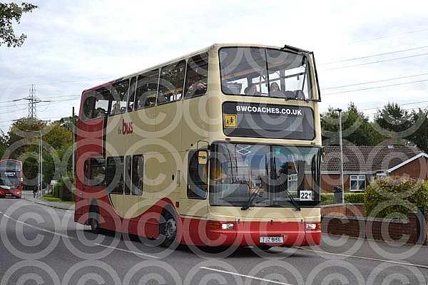 TJZ8156 (Y864GCD) Black & White,Scunthorpe Brighton & Hove
