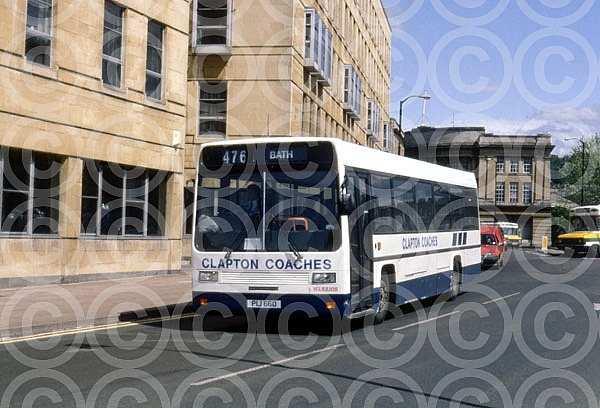 PIJ660 (XBF60S) Rebody Clapton,Midsomer Norton PMT