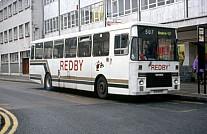 VCW599Y Redby,Sunderland Blackpool CT